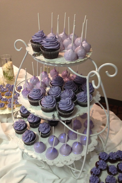 Example of cake pops