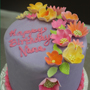 Example of custom birthday cake
